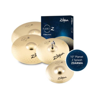 Zildjian Planet Z 4 Cymbal pack + 10″ Planet Z Splash