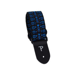 Perri's Leathers 289 Poly Pro Black And Blue Hootenanny