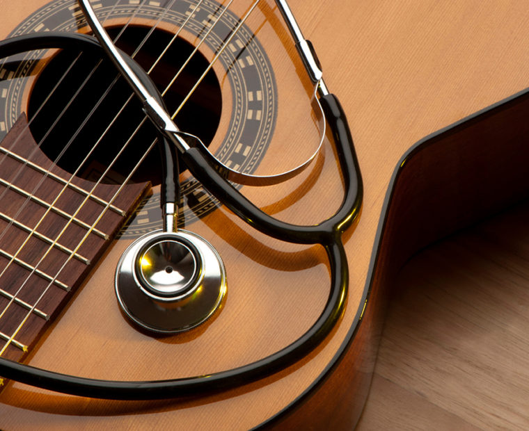 Guitar and instrument repair concept